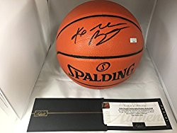 Kobe Bryant Autographed Signed Los Angeles Lakers Black Game Basketball Panini Authentic COA & Hologram