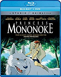 Princess Mononoke (Bluray/DVD Combo) [Blu-ray]