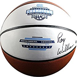 Roy Williams Signed 2017 Jarden Unc Champions Full Size Basketball