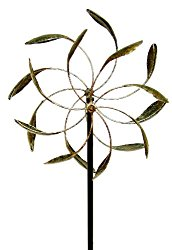 Echo Valley 4370 Counter Motion Leaf WindWheel, 18.5 by 9.75 by 56.5-Inch