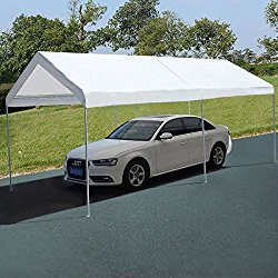 10 x 20 Steel Frame Canopy Shelter Portable Car Carport Garage Cover Party Tent