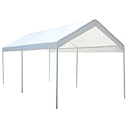 Tangkula 10 x 20 Heavy Duty Portable Car Carport Garage Cover Shelter