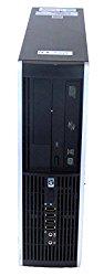 HP Elite 8000 SFF C2D 3.0ghz 4GB 250GB Windows 10 Professional 64 Bit, SFF Desktop (Certified Refurbished)