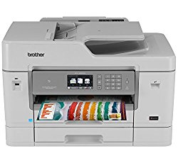 Brother Printer MFCJ6935DW Wireless Color Printer with Scanner, Copier & Fax, Amazon Dash Replenishment Enabled