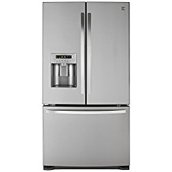 Kenmore 73053 26.8 cu. ft. French Door Bottom Freezer Refrigerator in Stainless Steel, includes delivery and hookup