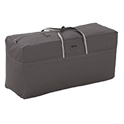Classic Accessories Ravenna Patio Cushion & Cover Storage Bag – Premium Outdoor Cover with Durable and Water Resistant Fabric (55-180-015101-EC)
