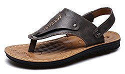 femaroly Flip-Flop Male Slippers Summer Clip Toe Non-Slip Sandals Comfort Outdoor Beach Shoe for Men and Boys