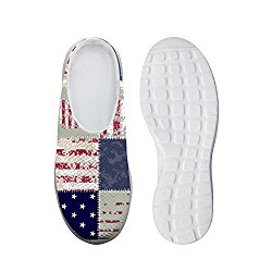 Unisex Clogs, 3D Printing Graphic Comfortable Convenience Men's Beach Sandals Mesh Loafer Slippers (Color : COLOR1, Size : 7 US Man)