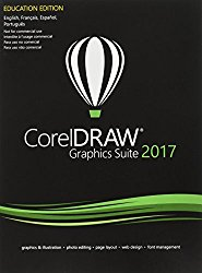 CorelDRAW Graphics Suite 2017 for PC – Education Edition (Old Version)