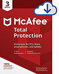 McAfee Total Protection – 3 Devices [Download Code]
