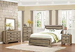 Bainbridge 5 Piece Rough Queen Bedroom Set in Beechwood