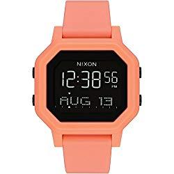 Nixon Siren Watch – Women's Light Tangerine, One Size