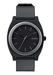 Nixon Time Teller P A119.  100m Water Resistant  Men's Watch (40mm Watch Face. Poly Band)
