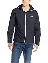 Columbia Men's Roan Mountain Jacket, Black/White, Large