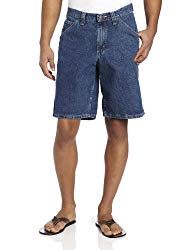 Lee Men's Carpenter Jean Short, Original Stone, 36