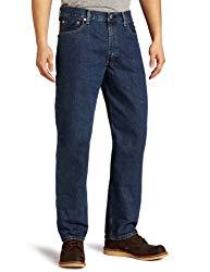 Levi's Men's 550 Relaxed Fit Jean – Big & Tall, Dark Stonewash, 44×32