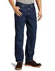 Levi's Men's 550 Relaxed Fit Jean, Dark Stonewash, 38×32