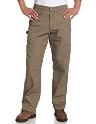 Riggs Workwear By Wrangler Men's Ripstop Carpenter Jean,Bark,33×32