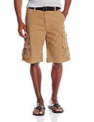 Wrangler Men's Big-Tall Authentics Premium Cargo Short, Acorn Twill, 46