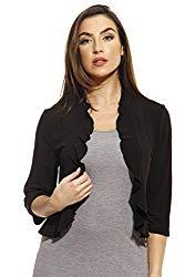 401572-Blk-2X Just Love Plus Size Shrug / Women Cardigan