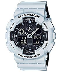 G-Shock GA-100 Military Series Watches – White / One Size
