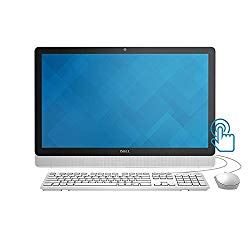 2018 Premium Dell Inspiron 23.8″ All-in-One Full HD IPS Touchscreen Desktop, Intel Pentium Quad-Core J3710 up to 2.64GHz 8GB RAM 512GB SSD DVDRW MaxxAudio Bluetooth Webcam USB 3.0 Win 10 – White