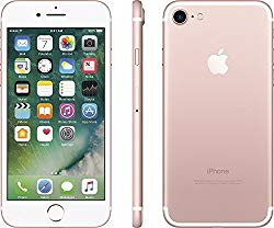 Apple iPhone 7 , GSM Unlocked, 128GB – Rose Gold (Certified Refurbished)