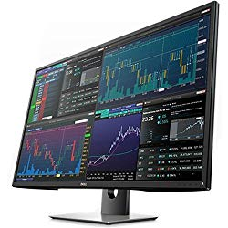 Dell 42.5 inch 16:9 Ultra HD 4K IPS Multi Client Monitor with Built in Speakers: P4317Q (Certified Refurbished)