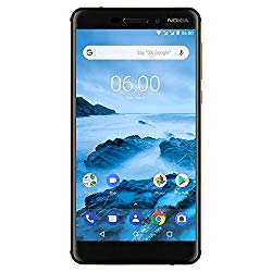 Nokia 6.1 (2018) – Android One (Oreo) – 32 GB – Unlocked Smartphone (AT&T/T-Mobile) – 5.5″ Screen – Black