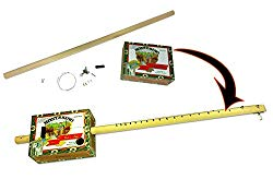 One-string Cigar Box Guitar DiddleyBow Kit – Easy to Build, all parts, hardware & instructions included