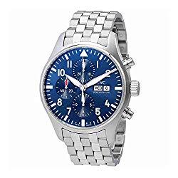 IWC Pilot Le Petit Prince Automatic Chronograph Mens Watch IW377717