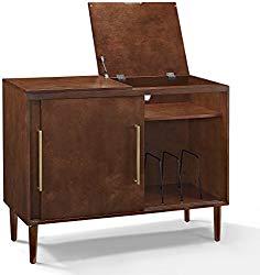 Crosley Furniture Everett Media Console – Mahogany