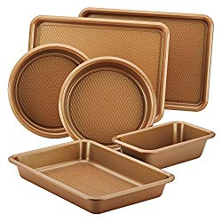 Ayesha Curry Bakeware Set, Copper, 6-Piece