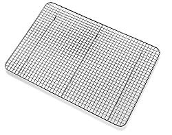 Bellemain Cooling Rack – Baking Rack, Chef Quality 12 inch x 17 inch – Tight-Grid Design, Oven Safe, Fits Half Sheet Cookie Pan