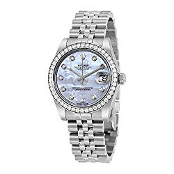 Rolex Datejust Lady 31 Mother of Pearl Dial Stainless Steel Rolex Jubilee Automatic Watch 178384MDJ