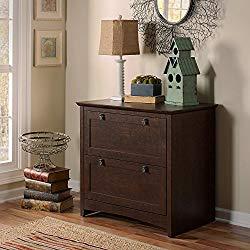 Bush Furniture Buena Vista Lateral File Cabinet in Madison Cherry
