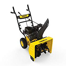 Champion 224cc Compact 24-Inch 2-Stage Gas Snow Blower with Electric Start