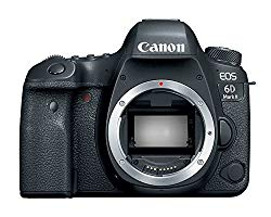 Canon EOS 6D Mark II Digital SLR Camera Body – Wi-Fi Enabled (Certified Refurbished)
