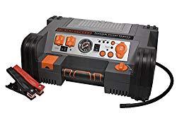 BLACK+DECKER PPRH5B Portable Power Station: 900 Peak/450 Instant Amps, 500W Inverter, 120 PSI Air Compressor