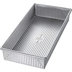 USA Pan Bakeware Aluminized Steel Biscotti Pan