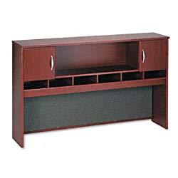 Mahogany 2-Door 72″ Hutch By Bush Furniture