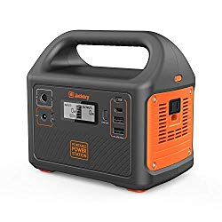 Jackery Portable Power Station Generator Explorer 160, 167Wh Solar Generator Lithium Battery Backup Power Supply 110V/100W(Peak 150W) AC Inverter Outlet Outdoors Camping Fishing Emergency