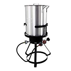 Chard TFP30A Aluminum Turkey Fryer Pack, 30 Quart
