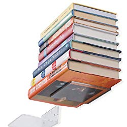Sleek Modern Design Acrylic 5 Inch Compact Office Organizer Shelves Set of 5 Clear