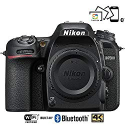 Nikon D7500 20.9MP DX-Format 4K Ultra HD Digital SLR Camera (Body Only) – (Certified Refurbished)