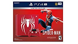 PlayStation 4 Pro 1TB Limited Edition Console – Marvel's Spider-Man Bundle [Discontinued]