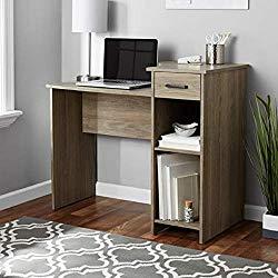 Toys & Child Mainstays Student Desk (White) (Desk ONLY Oak)