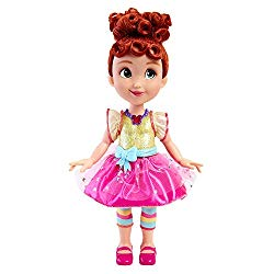 Fancy Nancy Shall We Be Fancy, 15″ Talking Doll, 35+ Phrases, Colorful Lights & Music