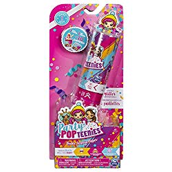 Party Popteenies – Double Surprise Popper, with Confetti, Collectible Mini Doll and Accessories, for Ages 4 and Up (Styles May Vary)