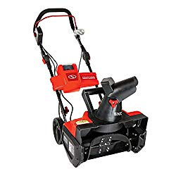 Snow Joe ION18SB-RED-RM Factory Refurbished 40V Cordless Lithium-Ion 18″ Snow Blower, Red